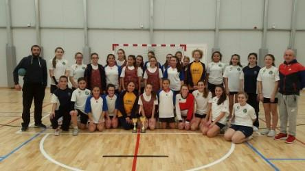 u/14 handball girls