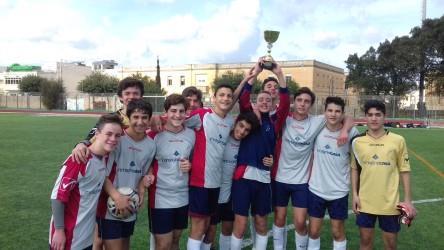 u/16 football boys