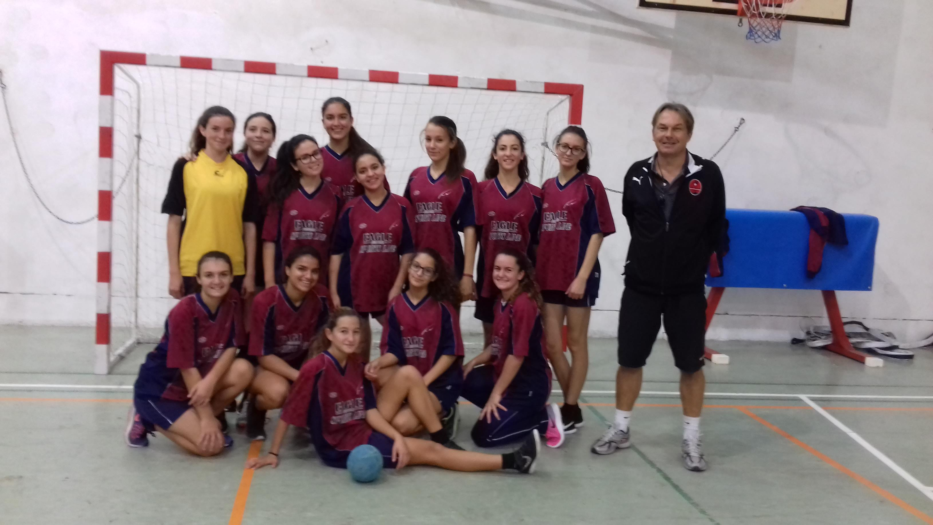 u/16 handball girls