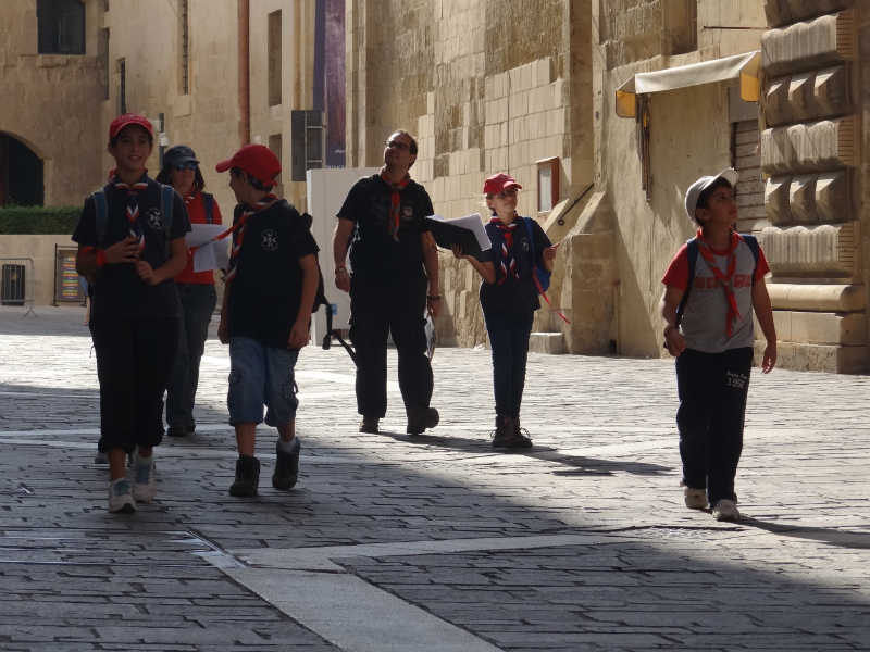 Joint Activity with San Gwann Packing Valletta